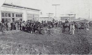 Raymond's Main Street ca, 1904